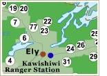 BWCAW Permits Map